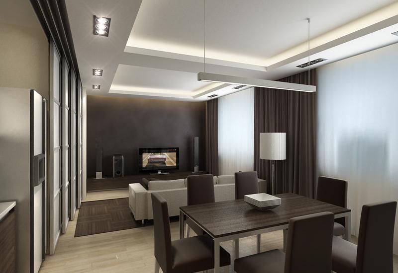 Дизайн интерьера все в одной комнате дизайн